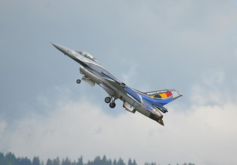 HM3 - F-16 aus Belgien © Harald Mairinger