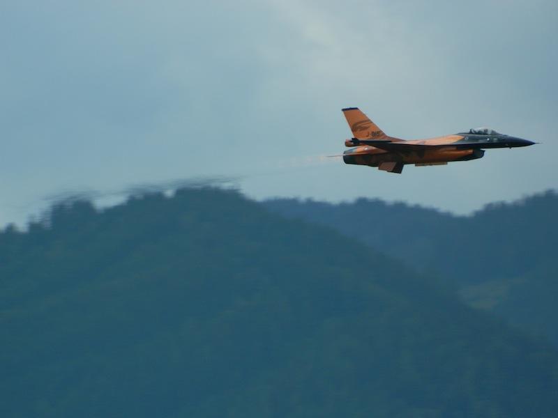 JK2 - Niederländische F16 Fighting Falcon © Janis Kratochwil