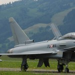 LM3 - Typhoon auf dem Taxiway © Luca Mynds