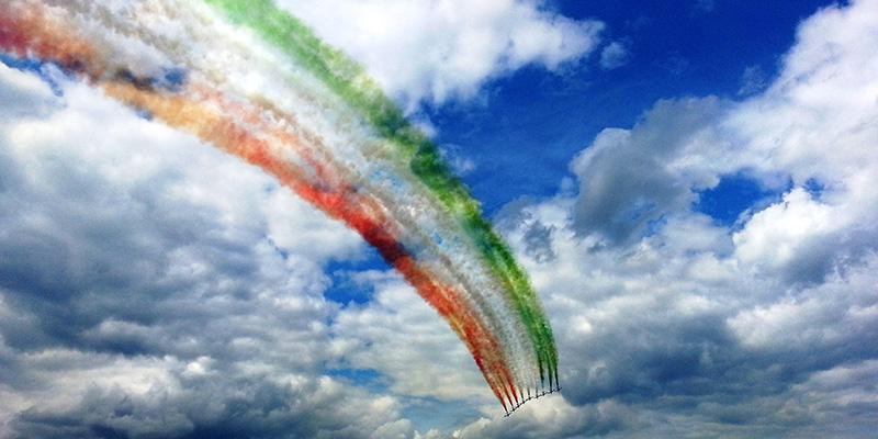 MR2 - Frecce Tricolori © Manny Reif