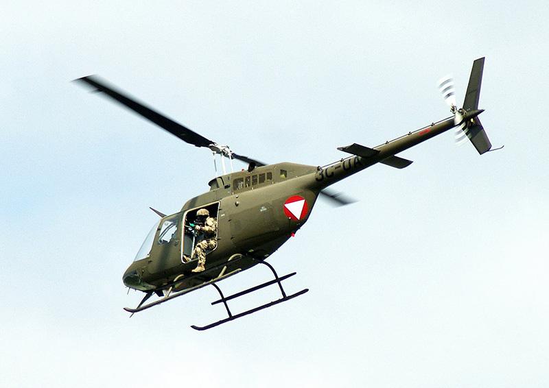 OH2 - Bell OH58B Kiowa © Otmar Helmlinger