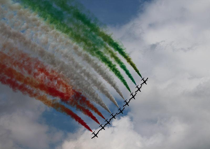 SF3 - Frecce Tricolori © Stefan Fink