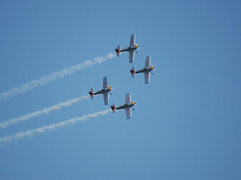 SP2 - FLYING BULLS AEROBATICS TEAM (Zlin-50 LX) © Peter Schafzahl