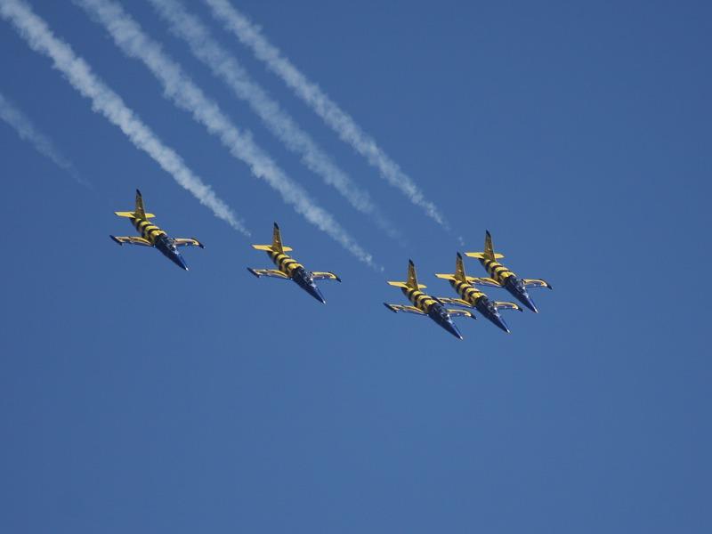 Die Baltic Bees aus Lettland wurden 2008 als ziviles Kunstflugteam gegründet