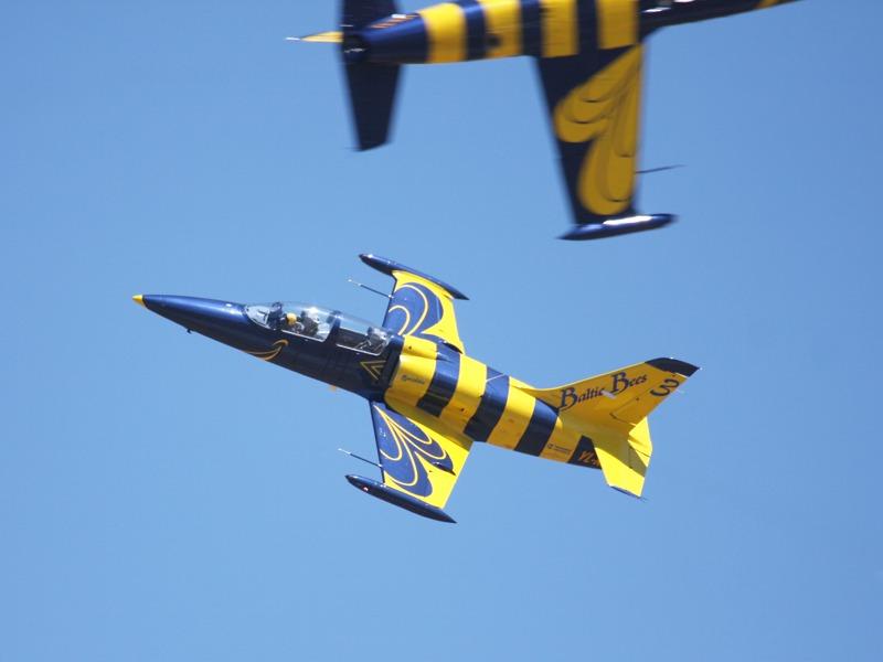 Die Baltic Bees fliegen mit Aero Vodochody L-39C Albatros