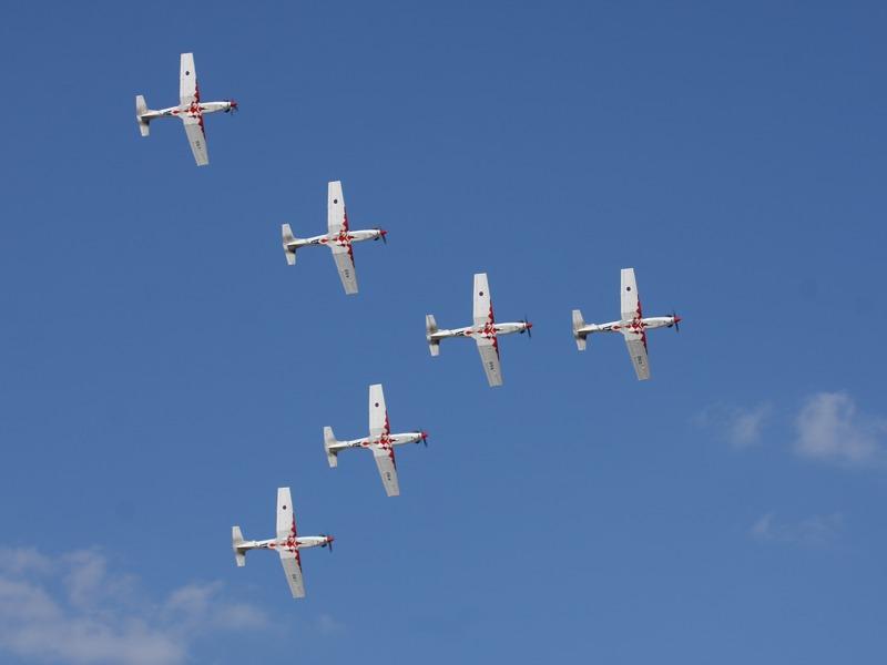 Wings of Storm (Krila Oluje) - das Kunstflugteam der kroatischen Luftwaffe