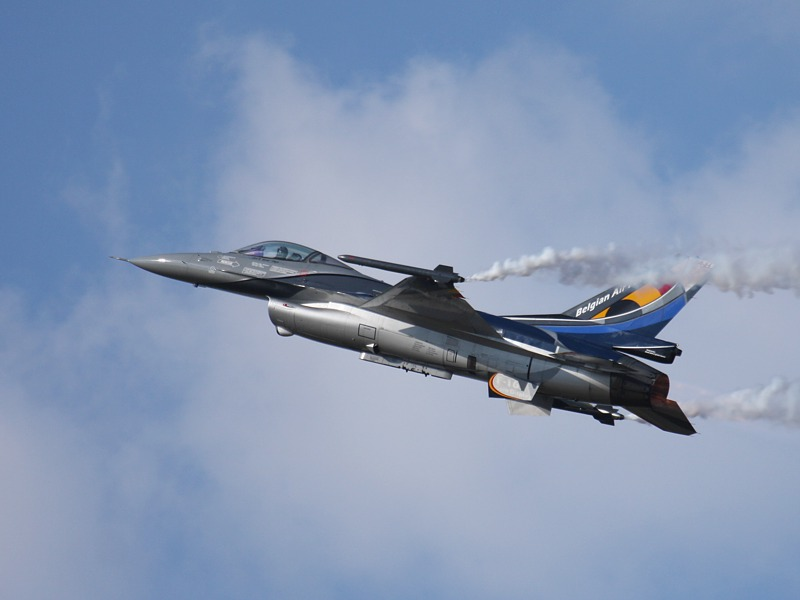 General Dynamics F-16AM Fighting Falcon FA84 aus Belgien