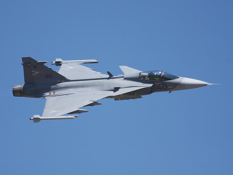 Saab JAS 39 EBS HU mit der Kennung 40