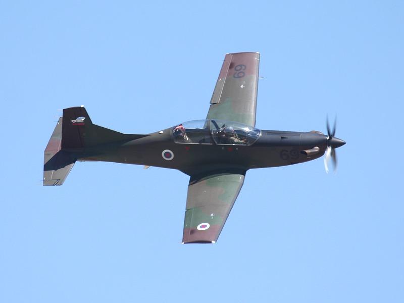 Moderner ist die Pilatus PC-9M Hudournik aus Slowenien