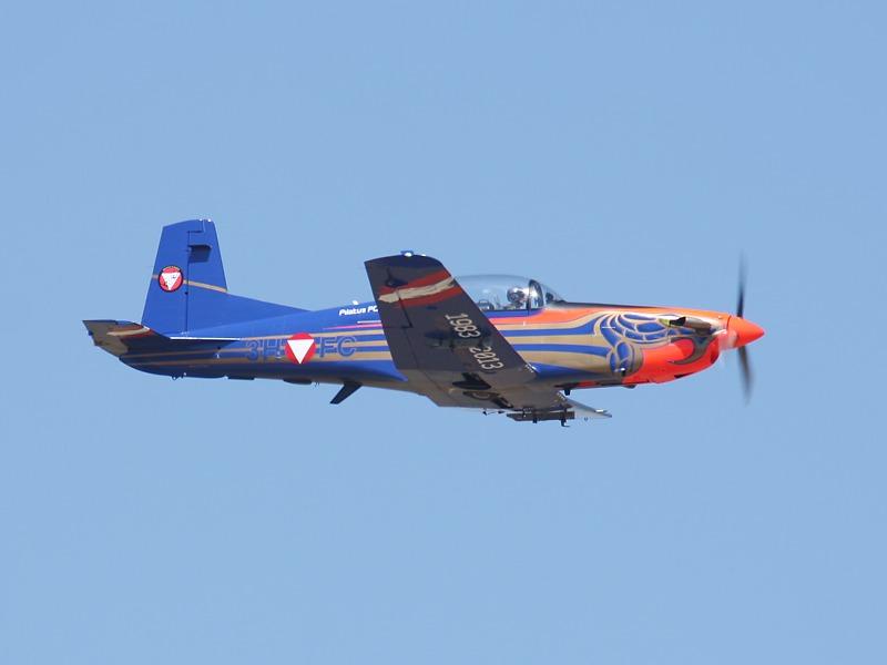 Pilatus PC-7 Turbo Trainer des Österreichischen Bundesheeres