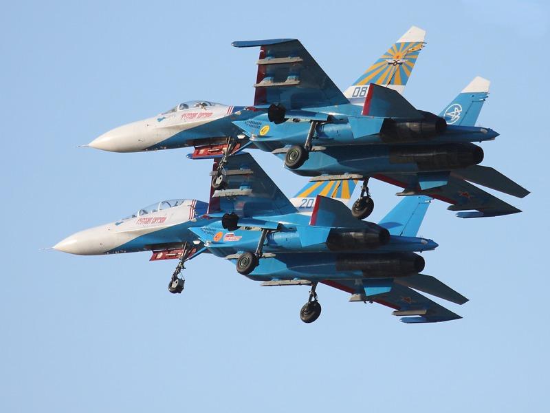 Russian Knights in Landekonfiguration