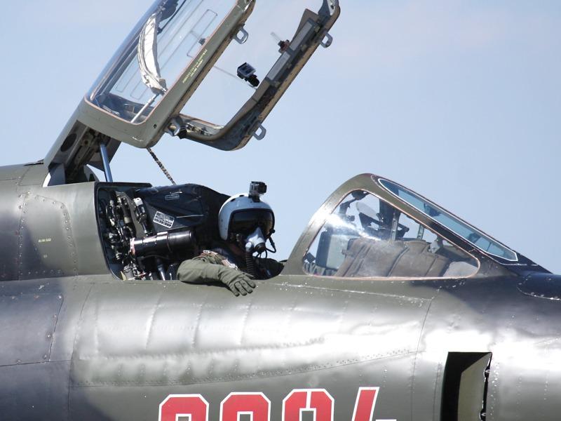 Der Fitter-Pilot trug eine Helmkamera