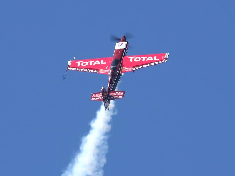 MXS von MXR Technologies, pilotiert vom ungarischen Kunstflug-Profi Veres Zoltan