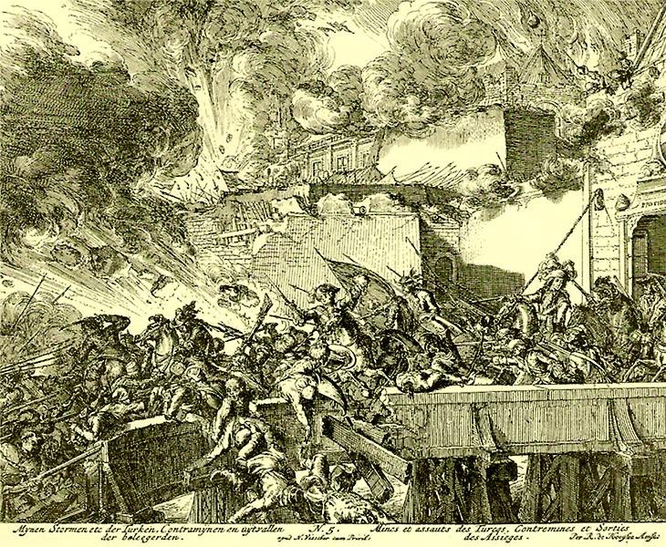 Ausfälle der Wiener dienten auch der Versorgung der Stadt