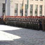 Die 2. Gardekompanie stellt die Ehrenkompanie © Doppeladler.com
