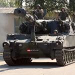 Panzerhaubitze M109 A5Ö mit 155 mm Haubitze