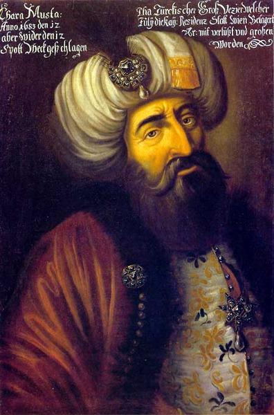 Groswesir des Osmanischen Reiches Kara Mustapha Pascha