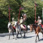 Wie vor 330 Jahren - polnische Reiterei am Kahlenberg © Doppeladler.com