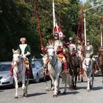 Einige Darsteller polnischer Kavallerie haben sogar ihre Pferde mitgebracht © Doppeladler.com
