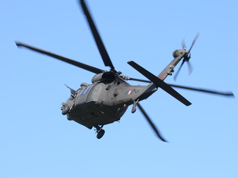 Der Black Hawk dreht ab
