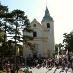Während der Gedenkveranstaltung in der St. Josefskirche © Doppeladler.com