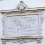 Gedenktafel über dem Eingang © Doppeladler.com