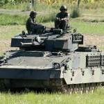 Nun ist der Schützenpanzer Ulan an der Reihe