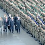 Ehrengäste bei der Angelobung © Bundesheer