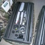 Transportrucksack für das TRACKER / DRAC System © Internet