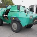 """""""Dingo der Polizei"""" - Der TM-170 ist ein Panzerwagen auf dem Fahrgestell des Unimog © Doppeladler.com"""
