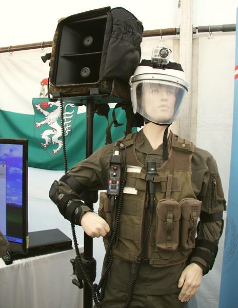 Lautsprechersystem der PSYOPS Truppe © Doppeladler.com