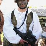 Winteradjustierung und 5,7 mm Maschinenpistole P90 von FN Herstal © Doppeladler.com