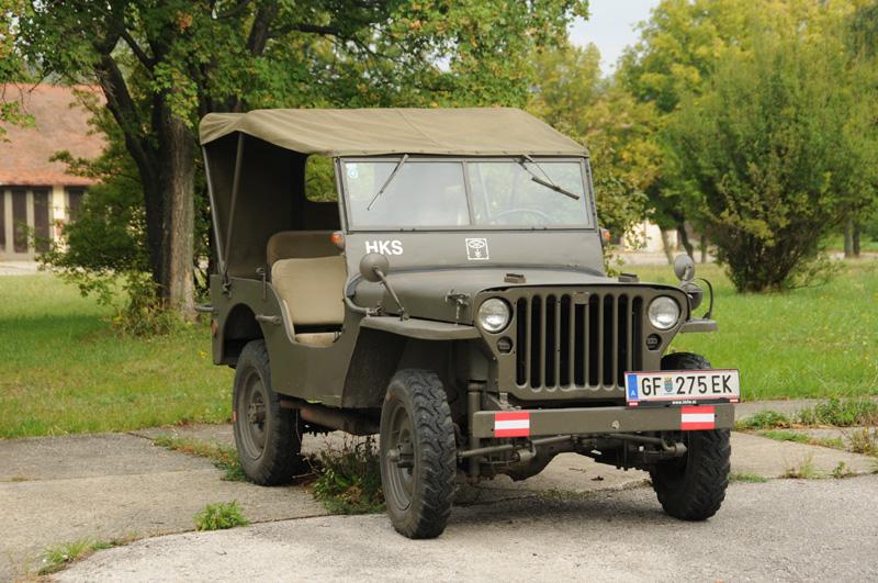 Willys Jeep, wie ihn auch die Heereskraftfahrschule in Verwendung hatte © Strobl
