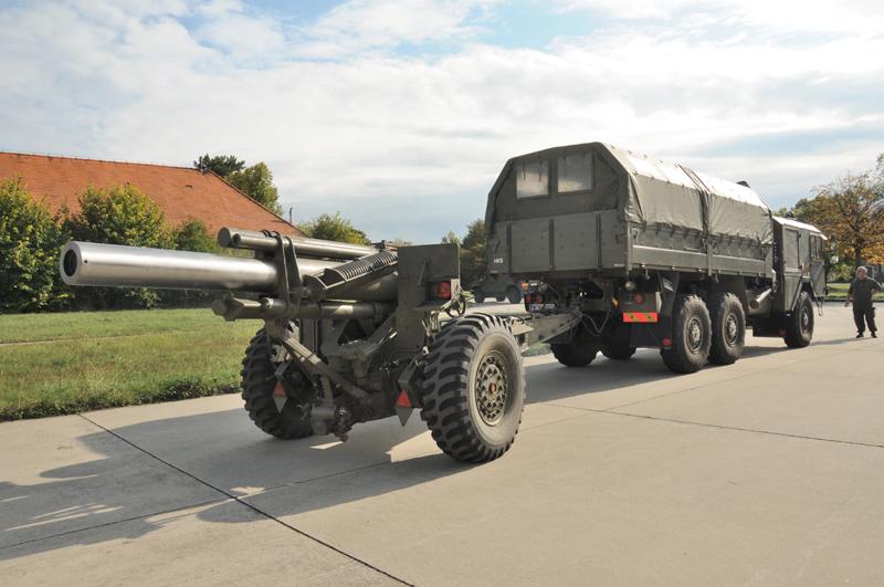 Die sFH M.1 A1 wiegt 5765 kg und wurde 1943 gebaut © Strobl
