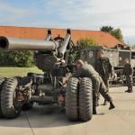 Ein schweres Artillerieregiment verfügte über eine Batterie sFK M.2 mit vier Geschützen © Strobl