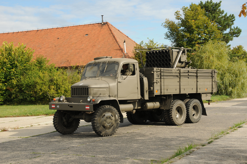 Das Bundesheer verfügte über 18 Raketenwerfer M.51 © Strobl