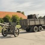 Nach der Feldverwendung wurden lFH 18/40 in ortsfesten Panzerabwehrriegeln wie etwa der Brucker Pforte verwendet © Strobl