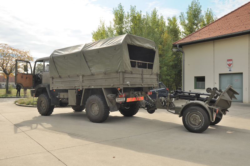Die Artillerieschule bildet auch Geschützbedienungen für Granatwerfer aus © Strobl