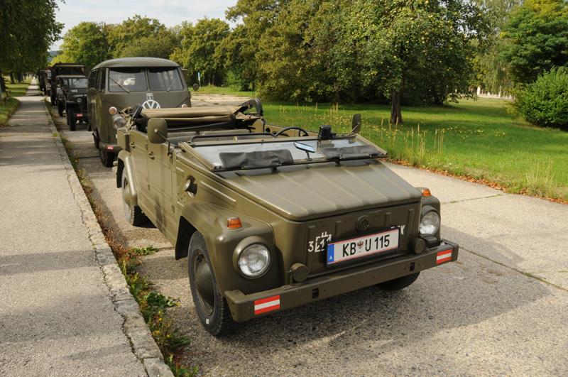 Dieser mil PKW VW 181 ist heute Privatbesitz © Strobl
