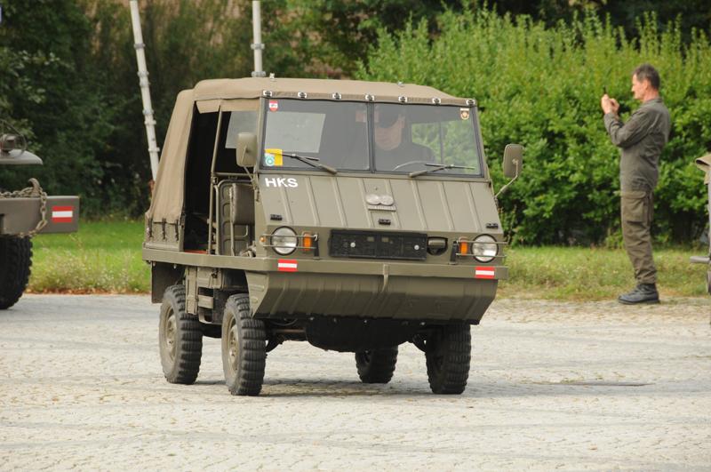Haflinger 700AP der Heereskraftfahrschule © Strobl
