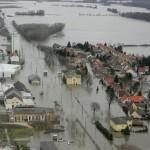 Dürnkrut nach dem March-Hochwasser 2006 © Bundesheer