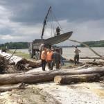 Pionierboot beim Donau-Hochwasser 2013 © Bundesheer