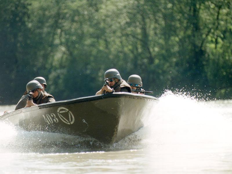 Die bisherigen Sturmboote spielten in einer anderen Liga © Bundesheer