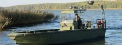 Typenboot des neuen Sturm- und Flachwasserbootes des Bundesheeres © Marine Alutech