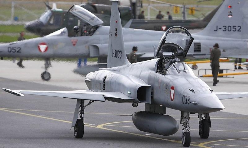 Als in Graz die Northrop F-5E Tiger II stationiert waren herrschte noch reges Treiben © Bundesheer