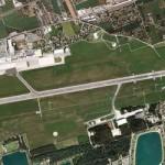 Oben der Zivilflughafen. Unten der Fliegerhorst Nittner © Graz Holding