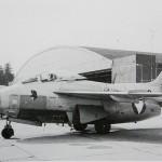 Saab J 29F Fliegende Tonne in Aufklärer-Konfiguration der 2. Staffel des JaBo-Geschwaders © Hainzl