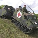 """""""Missing Link"""" zwischen Bv206 und BVS10 - ein gepanzerter Bv206S der Bundeswehr © Bundeswehr"""