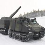 """Test mit automatischen 120 mm Granatwerfer NEMO mit Direktfeuer-Fähigkeit - ein """"Gebirgspanzer""""? © BAE Systems"""