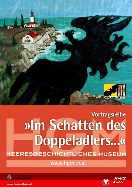 """Einladungkarte """"Im Schatten des Doppeladlers"""""""
